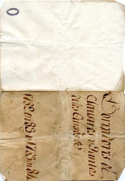 Borrador del Claustro pleno celebrado el 16 de noviembre de 1782