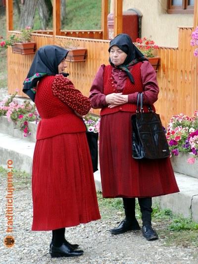 Costum popular femeiesc din satul Sic