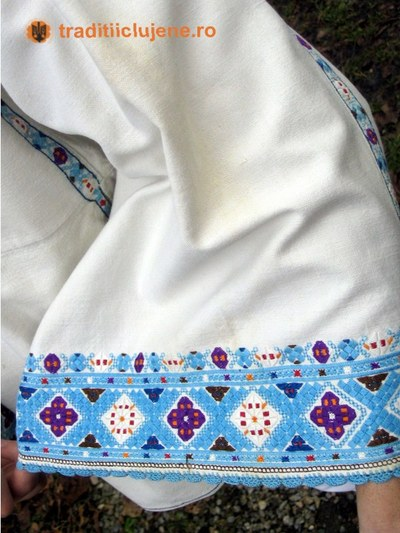 Cămaşă bărbătească - detaliu mânecă