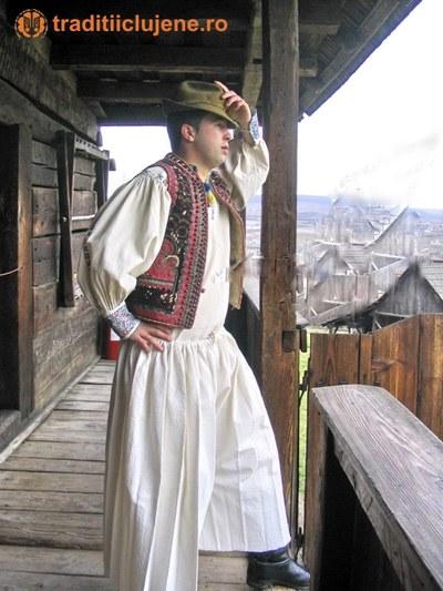 Costum popular bărbătesc din satul Răchiţele