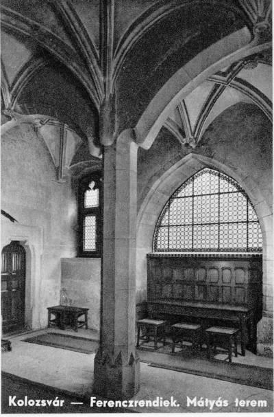 Mănăstirea franciscană (Piaţa Muzeului)