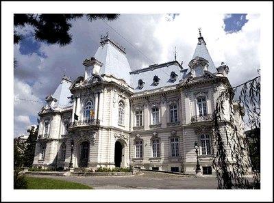 Palatul Dinu Mihail - azi