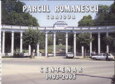 Intrarea în Parcul Bibescu - dupa 100 de ani