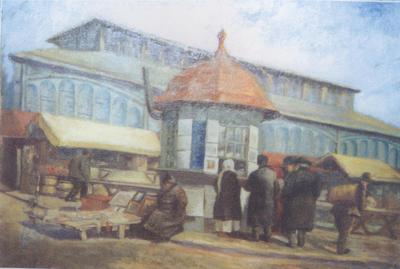 Mihai Gelep - Piaţa din Craiova