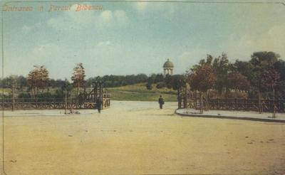 Intrarea în Parcul Bibescu