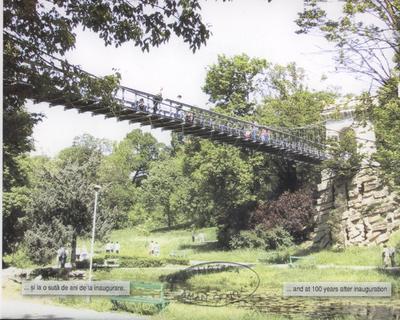 Podul suspendat - la 100 de ani