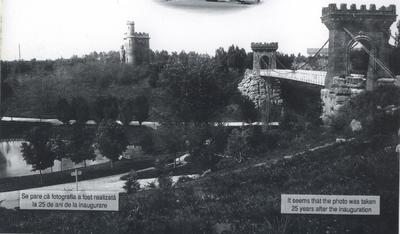 Podul suspendat - la 25 de ani