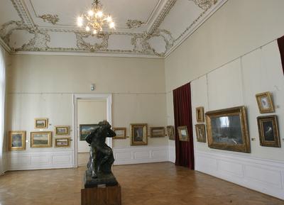 Interior al Muzeului de Artă din Craiova_76