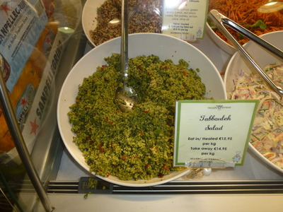 tabbouleh salad in bowl