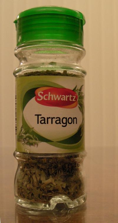 tarragon spice shaker