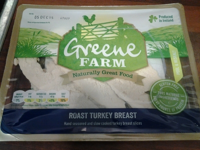 turkey breast slices in package