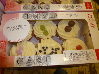vanilla cupcakes for takeaway