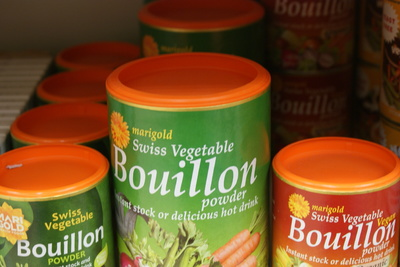 vegetable bouillon powders