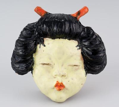 Falidísz - Japán nő hajtűvel