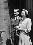 [Wedding of Cyril J Bloch and Cora Scott at Abbey Foregate, Shrewsbury]