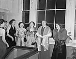 [Nurses' dance at Royal Salop Infirmary, Shrewsbury]