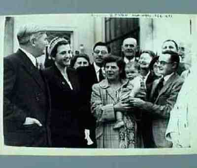 Labour Party's annual conference at Margate Mr Bevan and his wife stopped outside the Winter Garden
