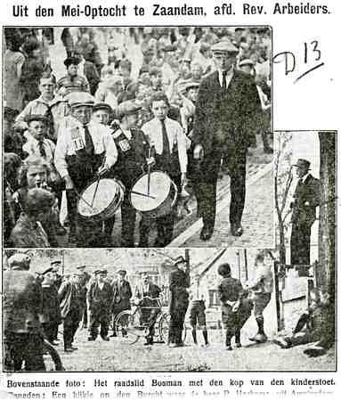 Uit: De Zaanlander (?) uit de jaren dertig