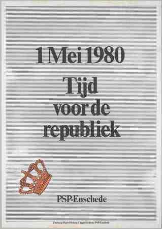 1 mei 1980 Tijd voor de republiek