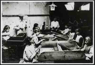 Sigarenfabriek. Kopie van exemplaar op Dir.Gen van de Arbeid, Den Haag