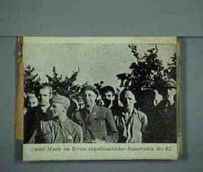 Group portrait André Marty