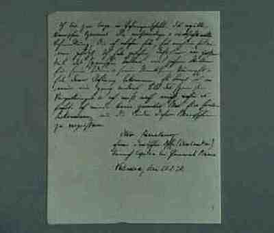 Statement by a German officer made prisoner by the Republican army