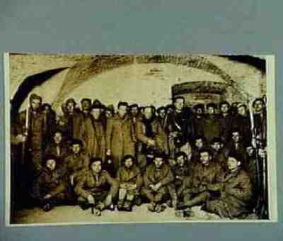 Italian prisoners from the Guadalajarafront in Madrid
