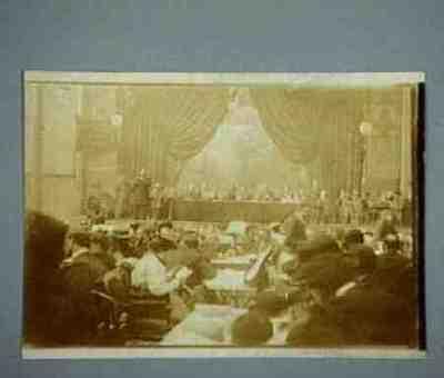 Group portrait Rosa Luxemburg, Victor Adler, Emile Vandervelde