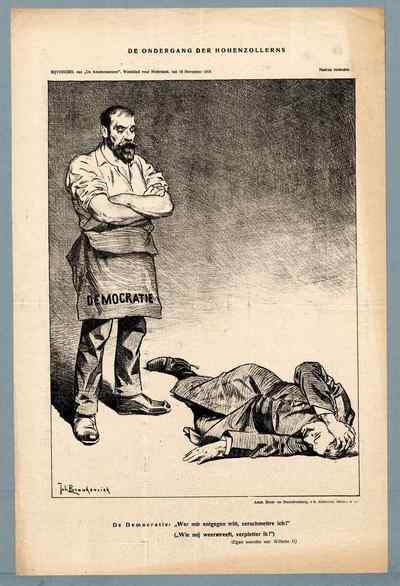 De ondergang der Hohenzollerns