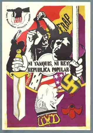 Caricature poster Juan Carlos I