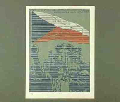 Reprint. From portfolio: Politický Plagát