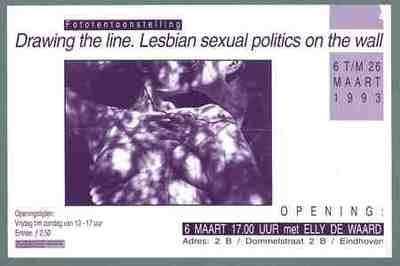 Drawing the line Lesbian sexual politics on the wall
