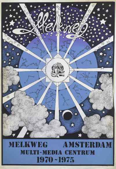 Poster / 1970-1975 Melkweg Multi Media Centrum