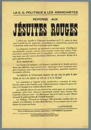 Réponse aux Jésuites Rouges