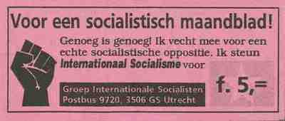 Voor een socialistisch maandblad