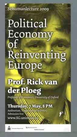 Jaarlijkse lezing over het thema 'Europa'
