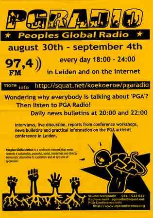 Kraakbeweging diversen: Vrije radio