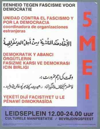 Eenheid tegen fascisme voor democratie