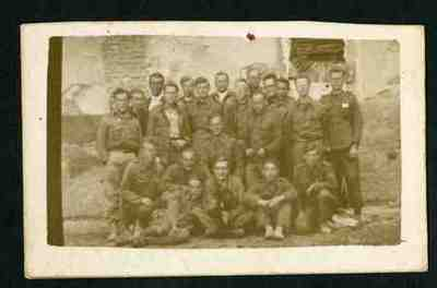 A group of Dutch prisoners of war