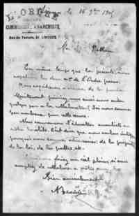 L'Ordre  (Limoges).   1905.