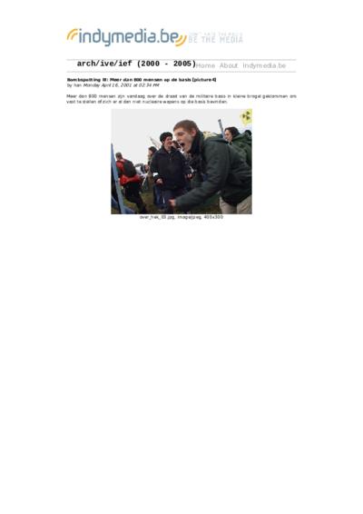 Bombspotting III: Meer dan 800 mensen op de basis [picture4]