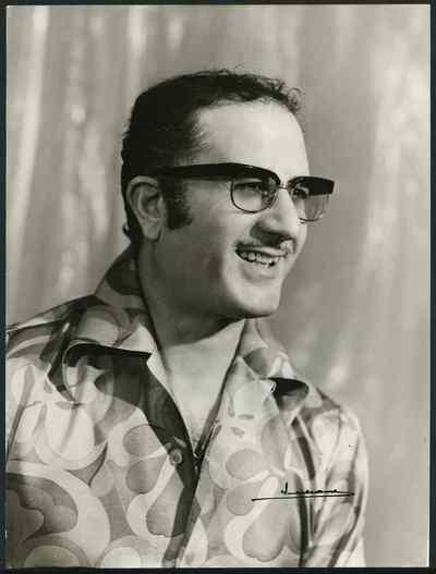 Portrait de Youssef Hagège, non daté