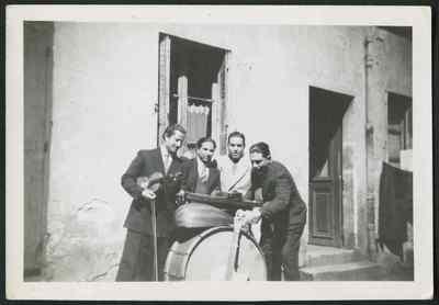 Années 1940, Tunis, Tunisie.