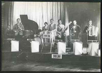 Orchestre Maurice Vaniam, non daté.