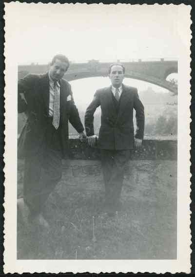 Youssef Hagège et Jacques Zaki Krief, années
