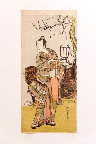 Retrat de l'actor de teatre kabuki Ichikawa Danjûrô V