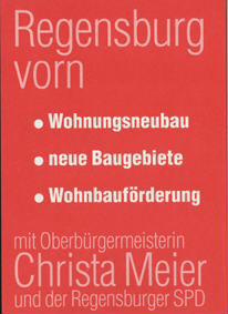 Regensburg vorn