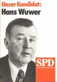 Unser Kandidat: Hans Wuser
