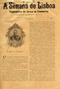 A semana de Lisboa: supplemento do Jornal do commercio