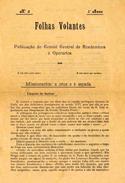 Folhas volantes: publicação do Comité Central de Academicos e Operarios